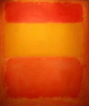 Марк Ротко. Без названия (Красный, желтый, оранжевый)