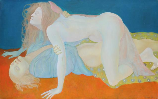 Leonor Fini. The blind ones