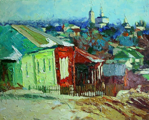 Mikhail Rudnik. Etude 167 Red Hill