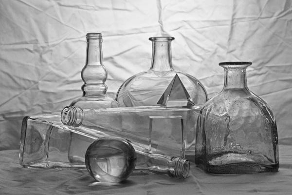 Vladimir Nikolaevich Bezgreshnov. Still life with glass №2
