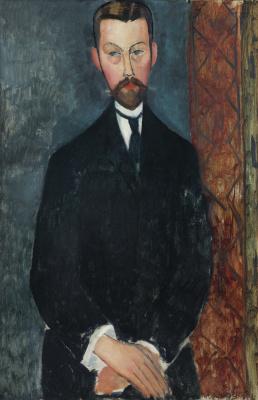Амедео Модильяни. Портрет Поля Александра