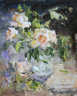 Tuman Art Gallery Tumana Zhumabayeva. Bouquet. Roses