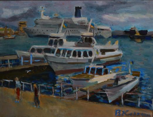 Vyacheslav Karelin. Summer marinas