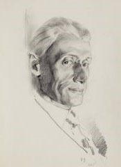 Ivan Ivanovich Zakharov. Portrait of the artist M.A. Eberman.