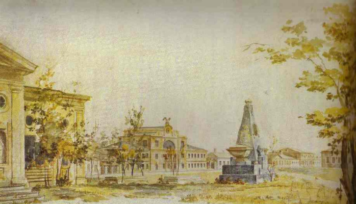 Fedor Yakovlevich Alekseev. Landscape