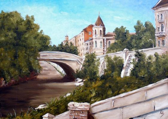Сергей Николаевич Ходоренко-Затонский. Каменный мост