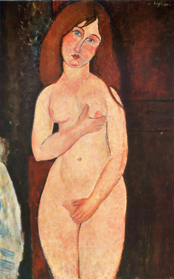 Amedeo Modigliani. Standing Nude