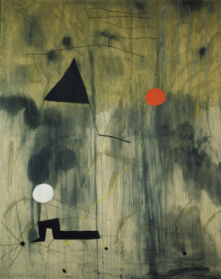 Joan Miro. The birth of the world