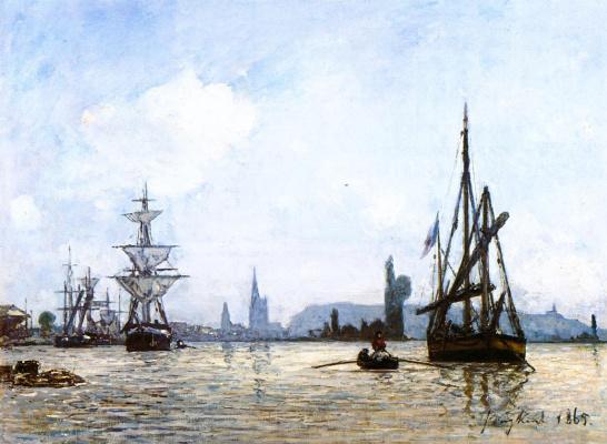 Ian Barthold Jongkinde. View Of Rouen