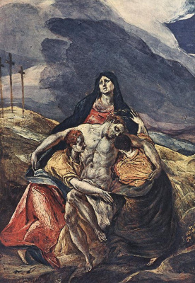 Domenico Theotokopoulos (El Greco). The Lamenting Of Christ (Pieta)