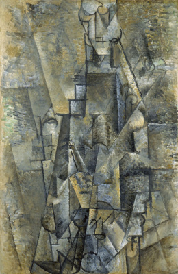 Pablo Picasso. The man with the clarinet