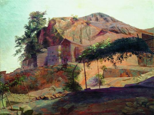 Lev Feliksovich Lagorio. Mountain monastery