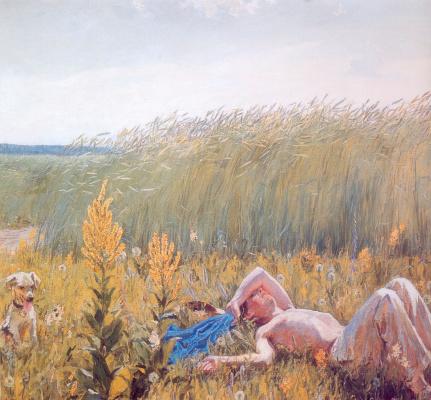 Аркадий Александрович Пластов. Юность