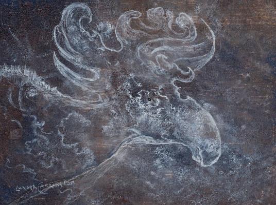 Леонора Каррингтон. Небесный лось