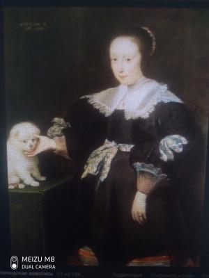 Cornelis de Vos. Vintage portrait