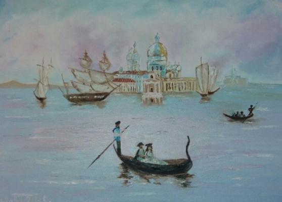Alla Yurievna Lviv. Gone Venice
