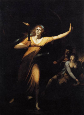 Johann Heinrich Fuessli. Lady Macbeth