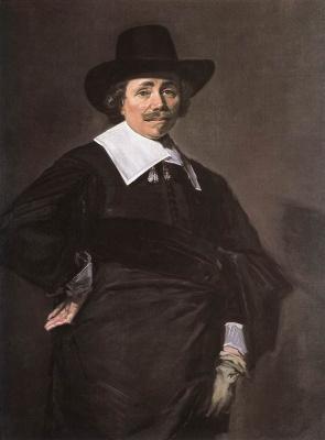France Hals. Portrait of a standing man
