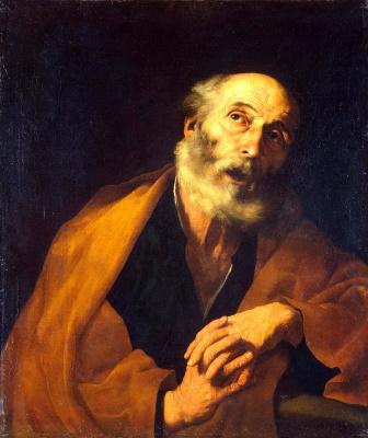 Jose de Ribera. Repentance Of St. Peter
