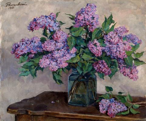 Petr Petrovich Konchalovsky. Lilac