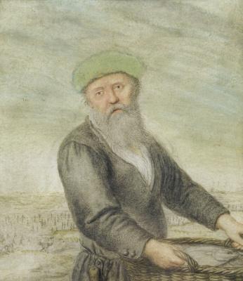 Хендрик Аверкамп. Торговец рыбой