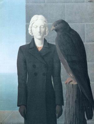 René Magritte. Deep water