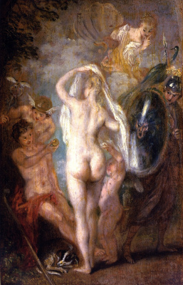 Antoine Watteau. The Judgment Of Paris