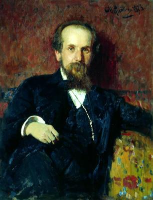 Ilya Efimovich Repin. Portrait of the artist p. P. Chistyakov