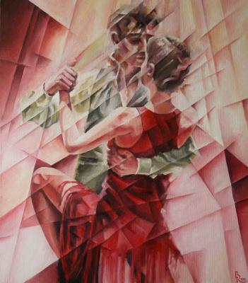 Vasily Vyacheslavovich Krotkov. Por Una Cabeza. Kubofuturizm