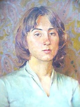 Ekaterina Burkhanova. Portrait