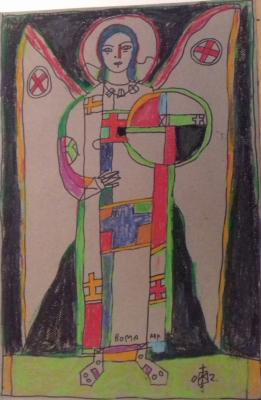 Igor Vasilyevich Kislitsyn. Angel of rome 2