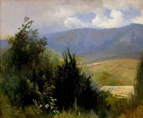 Fedor Alexandrovich Vasilyev. In The Crimea
