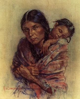 Николас де Гранмезон. Индейский портрет 52