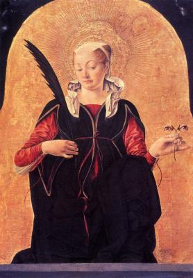 Франческо дель Косса. Св. Люсия