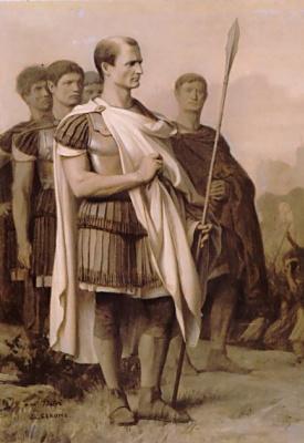 Jean-Leon Jerome. Julius Caesar