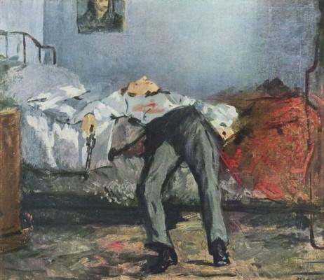 Edouard Manet. Suicide