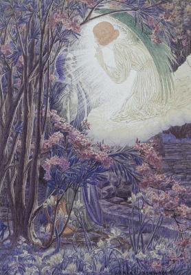 Карлос Швабе. Благовещение. 1897