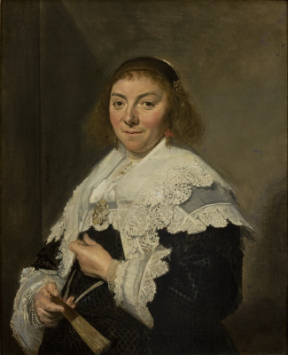 France Hals. Portrait Of Maria Alican