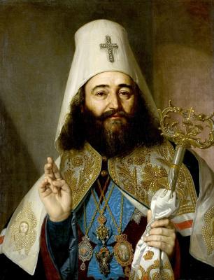 Vladimir Borovikovsky. A portrait of the Catholicos of Georgia Anthony II