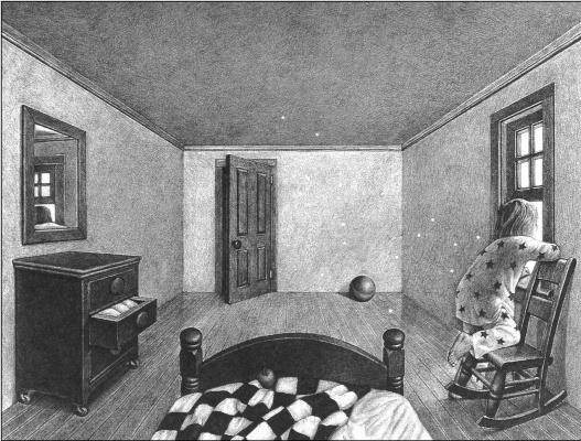 Серая комната