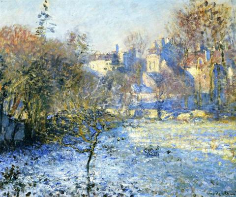 Claude Monet. Frost