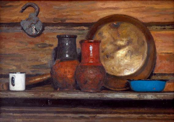 Heliy Mikhailovich Korzhev. Krynki and pelvis for jam