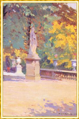 Сьюзан Уоткинс. Эскиз памятника в Тюильри