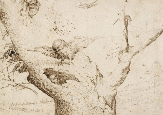 Hieronymus Bosch. The Owl's Nest