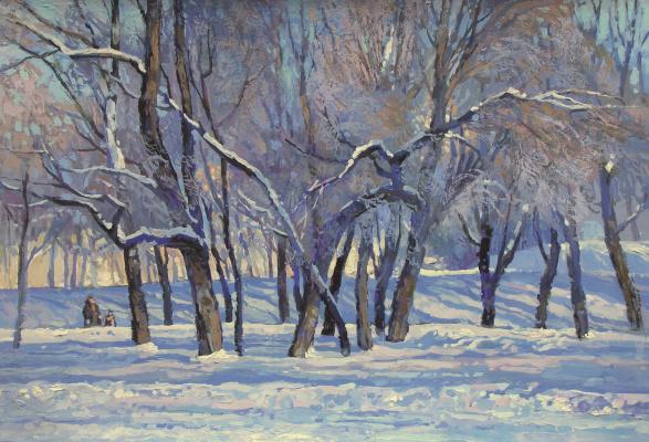 Oleg Borisovich Zakharov. The Epiphany frost.