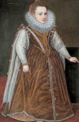 Sofonisba Anguissola. Infanta Catalina, granddaughter of the duke and duchess of Parma