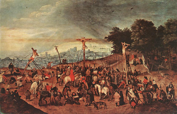 Jan Bruegel The Elder. Crosses