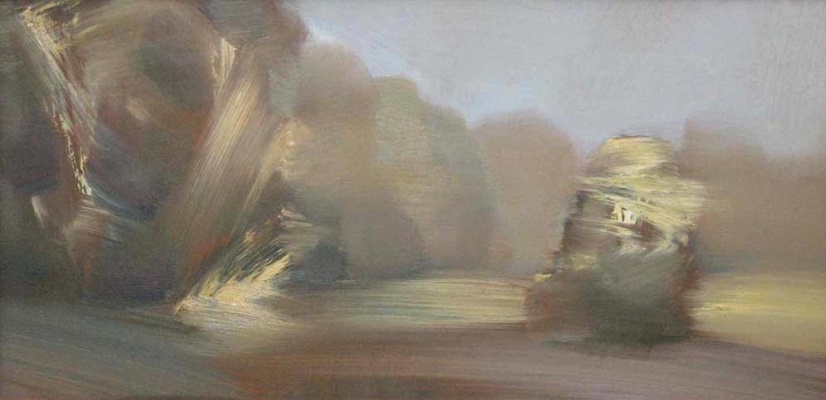 Alexander Ivanovich Vlasyuk. The morning ray
