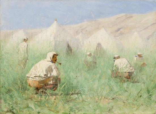 Русский лагерь в Туркестане