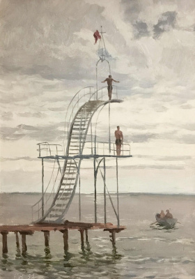 George Grigorievich Nyssa. Jumping tower
